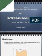 4 Intergrasi Numerik