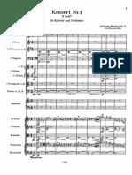Brahms - Piano COncerto No1 Op. 15