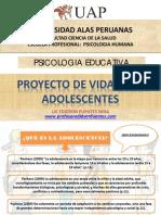 Proyecto de Vida Para Los Adolescentes