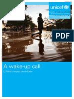 Wake Up Call El Nino Unicef Report Final