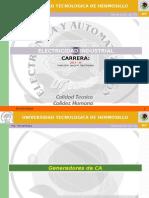 Generadores CA - 2014-III