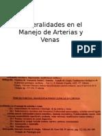 Generalidades en el Manejo de Arterias y Venas.pptx