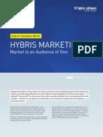 Hybris Marketing Solution Brief En