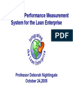 Metrics and Performance Measurement