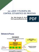 Métodos y Filosofía Del Control Estadístico de Procesos