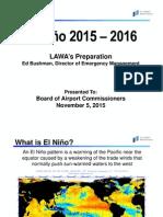 LAX El Nino Prep