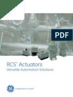 RCS Actuators Brochure