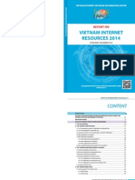 Report on Vietnam Internet Resources 2014