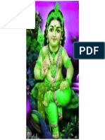 Lord Murugan in a Blessing Manner