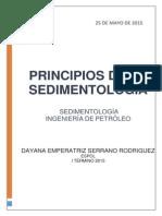 Principios de La Sedimentología_dayana Emperatriz Serrano Rodríguez