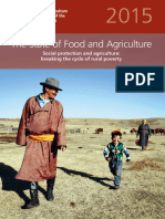 The State of Food and Agriculture 2015 Sofa Social Protectio