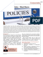 Policies- Required by Corproates_icai Journal_nov-2015