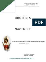 Oraciones Mes Noviembre-primaria