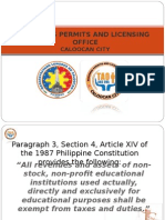 Business Permits and Licensing Office - Ppt.ppt - For Learning Institutions