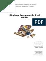 Referat Istoria Gindirii in Evul Mediu