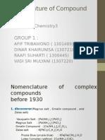 Tatanama Senyawa Kompleks FIX