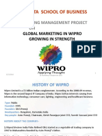 Marketing Strategy of WIPRO by Srinivas