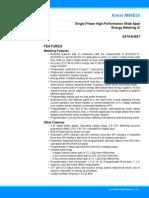 Atmel M90E26-Datasheet (Analog Front End)