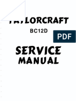 Taylorcraft Service Manual BB12