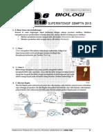 Pembahasan Ps 6 BIOLOGI Superintensif SBMPTN 2015