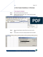 Excel 2 Test Link