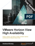 VMware Horizon View High Availability - Sample Chapter