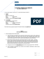Contoh Surat Perjanjian Web Design