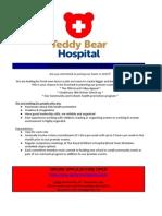 Teddy Bear Hospital Recruitment 2016 Committee