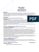 Jobswire.com Resume of jodydipesa