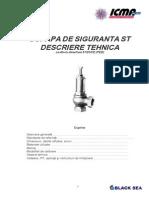 Manual Supapa Siguranta ST ICMA