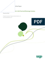 Managing Risk in Food and Beverage
