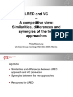 LRED and Value Chains 2009