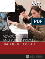 Advocacy & Public Private Dialogue Toolkit English