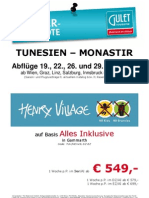 Tun Henry Village Abfl. 19.06.-29.06