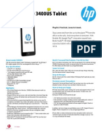 HP Slate 7 - Specifications