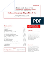 Italia 3 Trim 2015 - Pil Debito & Co