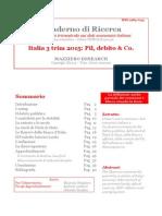 Italia 3 Trim 2015 - Pil Debito & Co