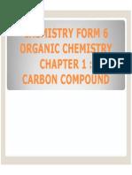 Chemistry Form 6 Sem 3 Chapter 1