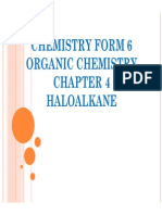 Chemistry Form 6 Sem 3 Chapter 4