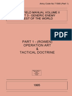 AFM Vol.2 Generic Enemy Pt 3- Rest of the World - Operational Art_Tactical Doctrine 1995