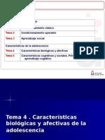 Tema 4. Caracteristicas Biologicas y Afectivas Adolescente_2014