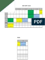 Timetable SEPT 2015