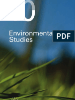 UBC Press Environmental Studies 2010