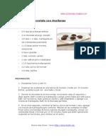 Galletas de Chocolate Con Avellanas