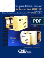 Catalogo Interruptor EMA Serie VE