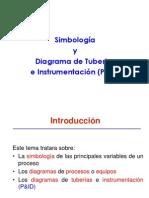 Simbologia y Diagrama de Tuberias