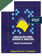 Proposta Curricular Geral - EJA