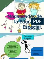 Modalidades Educación Diferencial