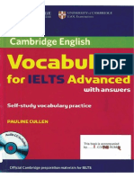 Cambridge IELTS Advanced Vocabulary