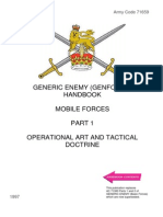AFM Vol.2 Generic Enemy Handbook - Mobile Forces Pt 1 - Operational Art AndTactical Doctrine 1997